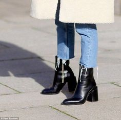 Simple: 'From an industry perspective, celebrities and influencers prefer simplistic and refined styles because they're different,' Ms Frances previously told Daily Mail Australia