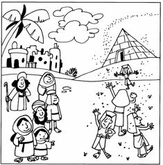 Plagues of Egypt flies Moses Plagues, Plagues Of Egypt, 10 Plagues, Bible Activities For Kids, Bible Lessons For Kids, Bible For Kids, Bible Quiz, Children's Bible, Moses Bible Crafts