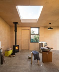 Potting Shed | Grey Griffiths Architects The potting shed by peckham-based grey griffiths architects is designed to meet the needs of a ceramicist in walthamstow, east london. situated in the client's...