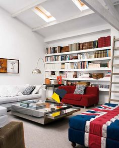 Incredible loft space in the heart of Madrid by interior designer Rocio Galatians