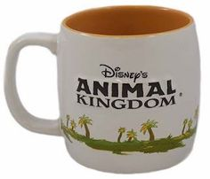 Disney's Animal Kingdom brings you Winnie the Pooh and a tiger on this fun coffee mug.