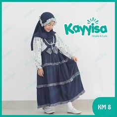 Baju Muslim Anak Perempuan Cantik Kayyisa a89e0e9f8c