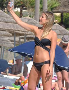 EXCLUSIVE: Vogue Williams in Ayia Napa.