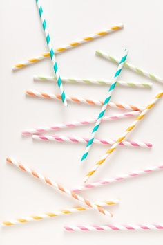 Paper Straws, Inspiration fro Mobella Events, www.mobellaevents.com #birthday #princess