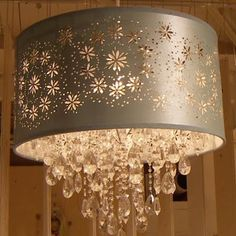 punched metal drum light - Google Search