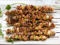Skewer up some chicken and scallions, fire up the grill, grab a drink, and enjoy one of Japan's popular classics - yakitori chicken.
