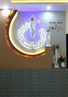 Ntexpert for this type design. Ban Thờ Home Altar Catholic Altar Design Catholic Altar Contact us to get a consult. Home Altar Catholic, Tv Wall Design, Type Design, Altar Design, Prayer Corner, Prayer Garden, Pooja Room Design, Kerala House Design, Puja Room