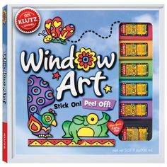 Easy-to-trace artwork, step-by-step directions, and expert tips come with six bottles of the best window paints in the world.
