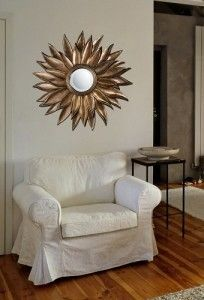 Mirrors as wall decor