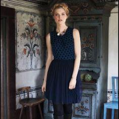 Anthropologie Sasonger Tulle Dress