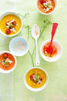 Summer Gazpacho Recipe.