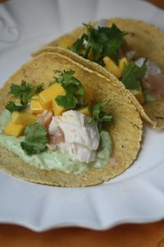 Roasted Fish Tacos w
