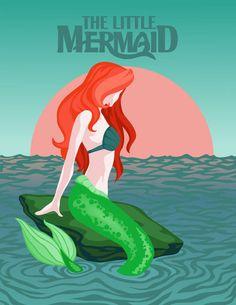 Favorite Movie:The Little Mermaid I love the music, I love Ariel and I… Disney Fan Art, Disney Love, Disney Magic, Disney Pixar, Disney Characters, Disney Stuff, Ariel Mermaid, Ariel The Little Mermaid, Mermaid Disney
