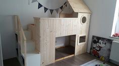 """Fantastic Cost-Free IKEA HACK: 14 ideas for redesigning the KURA bed, the . Popular A """"theme"""" runs through the Websites and pages of this system world: Ikea Hacks. Kura Bed Hack, Ikea Kura Hack, Ikea Hack Kids, Ikea Hacks, Ikea Furniture Hacks, Furniture Ideas, Kid Beds, Bunk Beds, Kids Bedroom"""