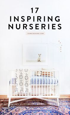 Whether you're preparing your baby's room now or saving ideas for your future family, these nursery ideas are gorgeous! From bright colors to unique wall decor to whimsical designs, we think there's an idea here for everyone!