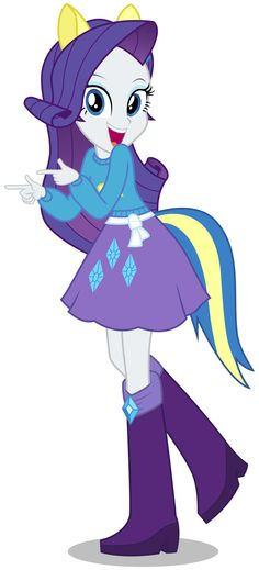 Rarity (Human) - Wondercolts Attire by CaliAzian.deviantart.com on @deviantART