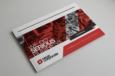 RW Swiss Style Brochure by Tugrul Ozmen, via Behance