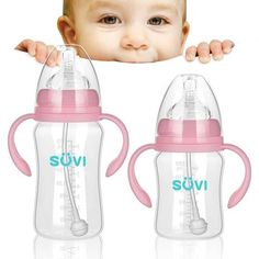 Best Baby Bottles For Travel. - Kids and Mom Shop Best Baby Bottles, Cute Water Bottles, Drink Bottles, Kids Bottle, Bottles For Sale, Bottle Feeding, Twin Babies, Baby Feeding, Baby Care