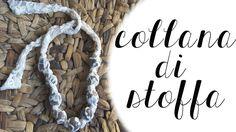 DIY FASHION: una collana di stoffa!