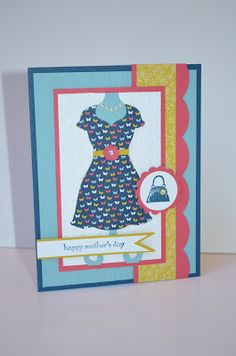 Paper, Pansies and Pachyderms: A Mother's Day Card For The Paper Players Sketch #138