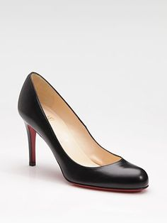 Christian Louboutin Simple 85 Pumps. Hmmm, how can I justify buying these shoes for my new fall shoes?