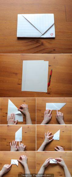Mini letter 1 - Note-folding technique