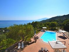 Amazing sea view villa in Campania - Cilento Big National ParkHoliday Rental in Villammare from @HomeAwayUK #holiday #rental #travel #homeaway