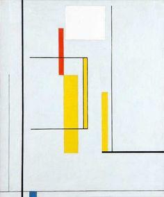 Tomás Maldonado, (Argentine, born 1922), Sin título (Untitled), 1948, Oil on canvas; 23 3/8 x 16 3/8 in.