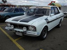 1970 Ford Cortina Mk II GT sedan