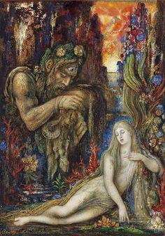 Galathea, Gustave Moreau - Madrid, Museo Thyssen Bornemisza