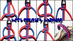 Armband West Country Whipping | Swiss Paracord
