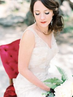 Woodland wedding ideas | Photo by Lisa O'Dwyer Photography | Read more - http://www.100layercake.com/blog/?p=77745