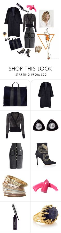 Job interview by luisa on Polyvore featuring moda, Karen Millen, Martin Grant, Chicwish, Gianvito Rossi, Clare V., Miss Selfridge, Ottoman Hands, By Terry and Urban Outfitters