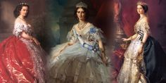 While Charles Frederick Worth made dresses for Royalty, Franz Xaver Winterhalter painted them. It was a partnership that powered Europe's elite.