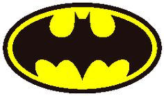 Batman Logo Crochet Graphghan Pattern (Chart/Graph AND Row-by-Row Written Instructions)