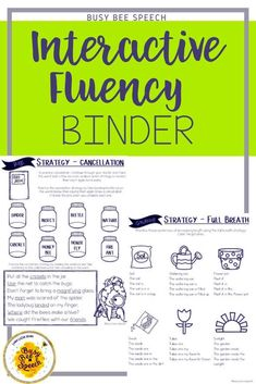 Give your Fluency caseload an upgrade this spring with this easy to use binder!