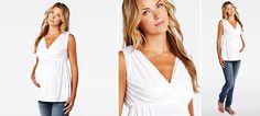 Back Ties Top aus der Kategorie Kurzarm-Shirts & Tops von Mamarella - Details