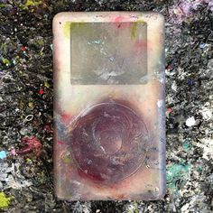 13+ years with me in the studio and counting... #ipod #nofilter #studiolife #contemporaryart