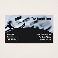 Automotive business cards retro automotive business cards automotive business cards reheart Choice Image
