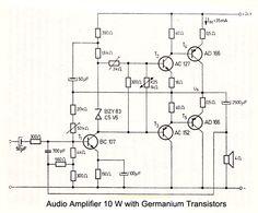 4 Preamplifier circuits using transistors - Eleccircuit.com ...