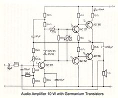 1000 images about Amplifier Circuit Schematics on