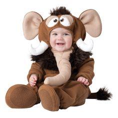 INCHARACTER COSTUMES REF: 6053 MAMUT BEBE - Incluye traje especial para que cambies el pañal de tu bebe fácilmente, capucha con orejas, pelo, ojos, cuernos y trompa y botines antideslizantes. PRECIO COLOMBIA:155.000