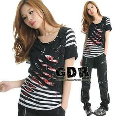 I found 'Freeship X GOTHIC LACE SHIRT CUTE PUNK VISUAL KEI 020442 M-L' on Wish, check it out!