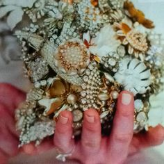 Brooch bouquets are now my favorite!