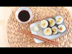 Domowe wegańskie sushi - YouTube
