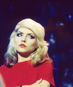 Debbie Harry has no time for your nonsense!!