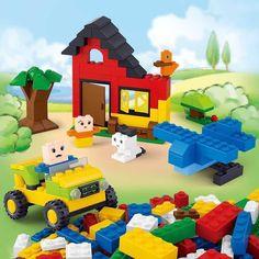 Building Blocks City 415pcs DIY Creative Bricks Toys for Children Educational Compatible Bricks Lego Compatible Free Shipping
