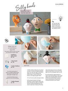 DIY CATALOGUE 2019—Page 30 Diy Fashion Accessories, Catalogue, Dinosaur Stuffed Animal, Children, Fun, Handmade, Bricolage, Kid, Tips