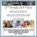 Application of Multiplication and Division 3rd Grade Math Lesson Plans 3.4K 3.5B Math Lesson Plans, Math Lessons, Fractions, Multiplication, Problem Solving Activities, Math Activities, 3rd Grade Math Worksheets, Math Classroom, Classroom Ideas