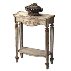 I pinned this Begbroke Console Table in Guilded Cream from the Whitaker Home event at Joss and Main!